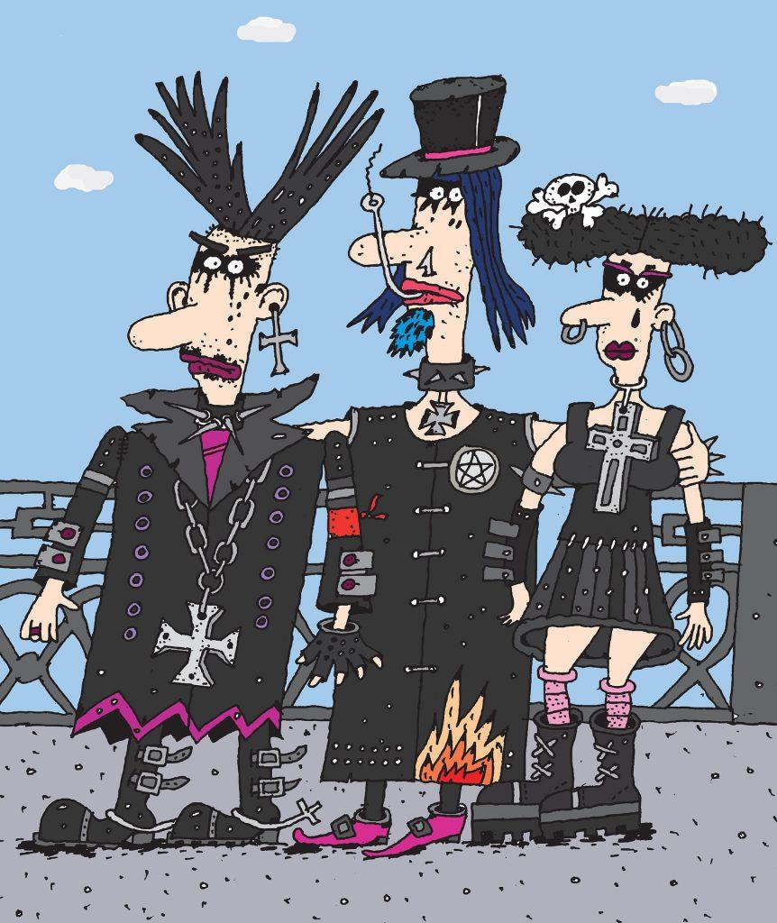 Punk Rock High Schoolers