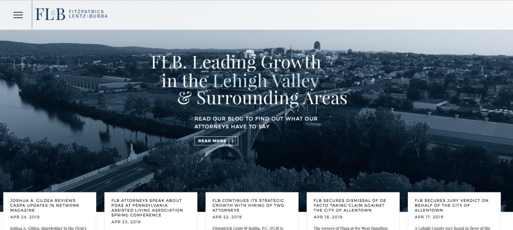 FLB- Best Lehigh Valley Websites