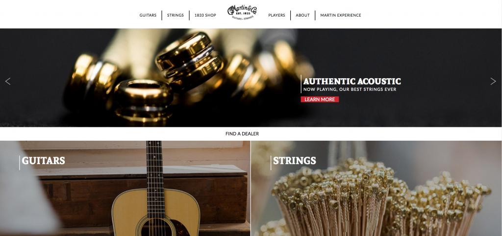 Martin Guitar - Best Lehigh Valley Websites