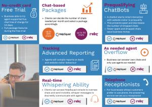 live chat agents HelpdSquad vs. Ruby