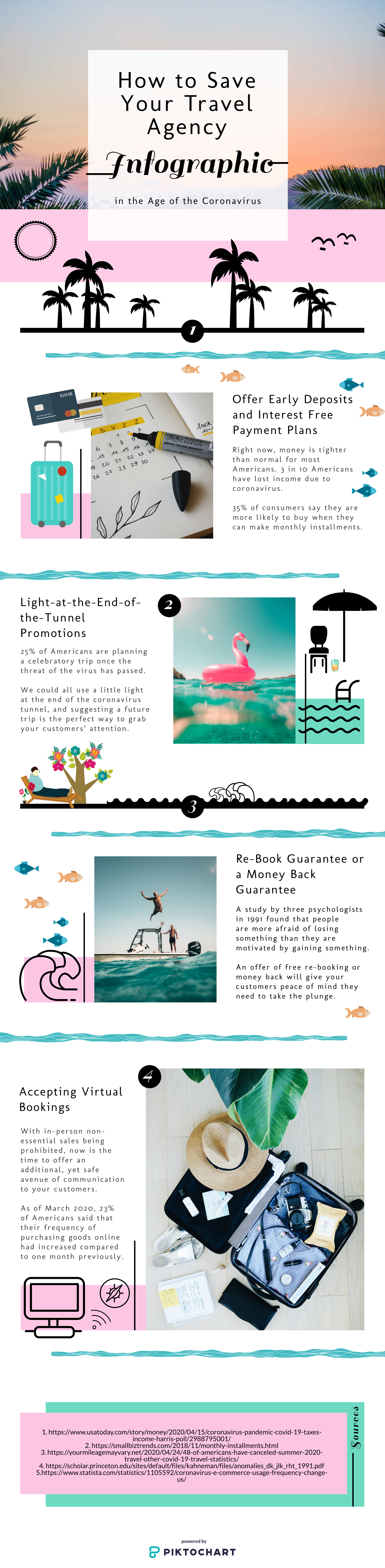 Travel Agency Infograph