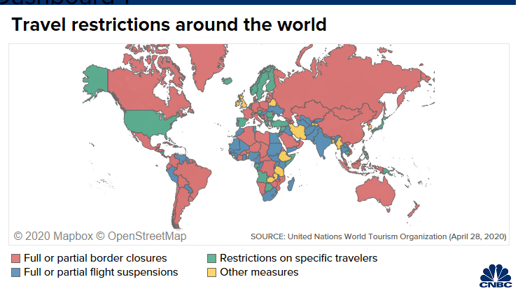 Travel Restrictions Map