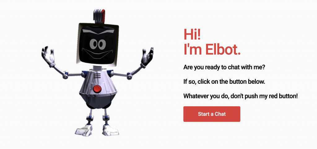 Elbot is one of the best chatbots