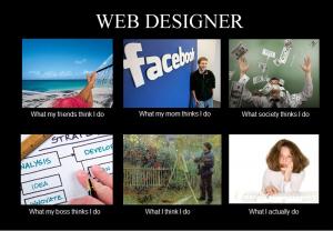webdesigner: design for brand distingtion
