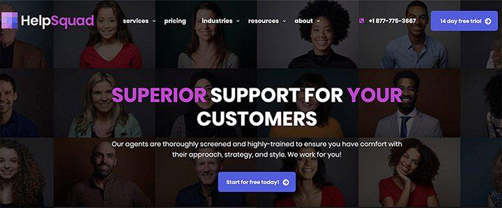 HelpSquad's-New-Homepage